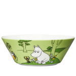 by Arabia Moomin bowl 15cm Moomintroll grass green