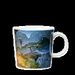 by Arabia Moomin mug 0,3L Night of the Groke