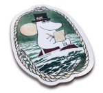 OPTO Cutting Board Shaped Moomin Papa at Sea