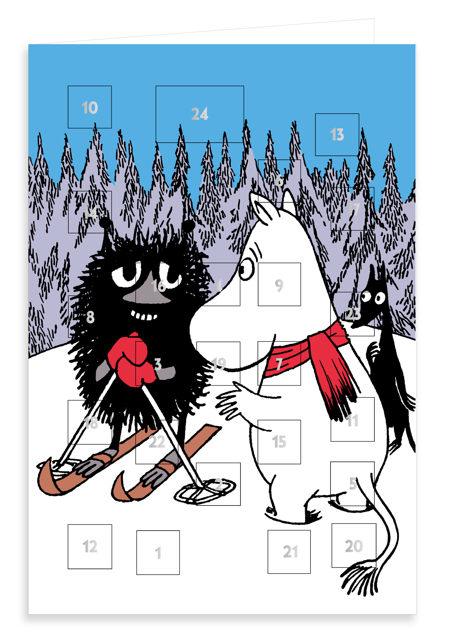 Putinki Advent Calendar Moomintroll and Stinky