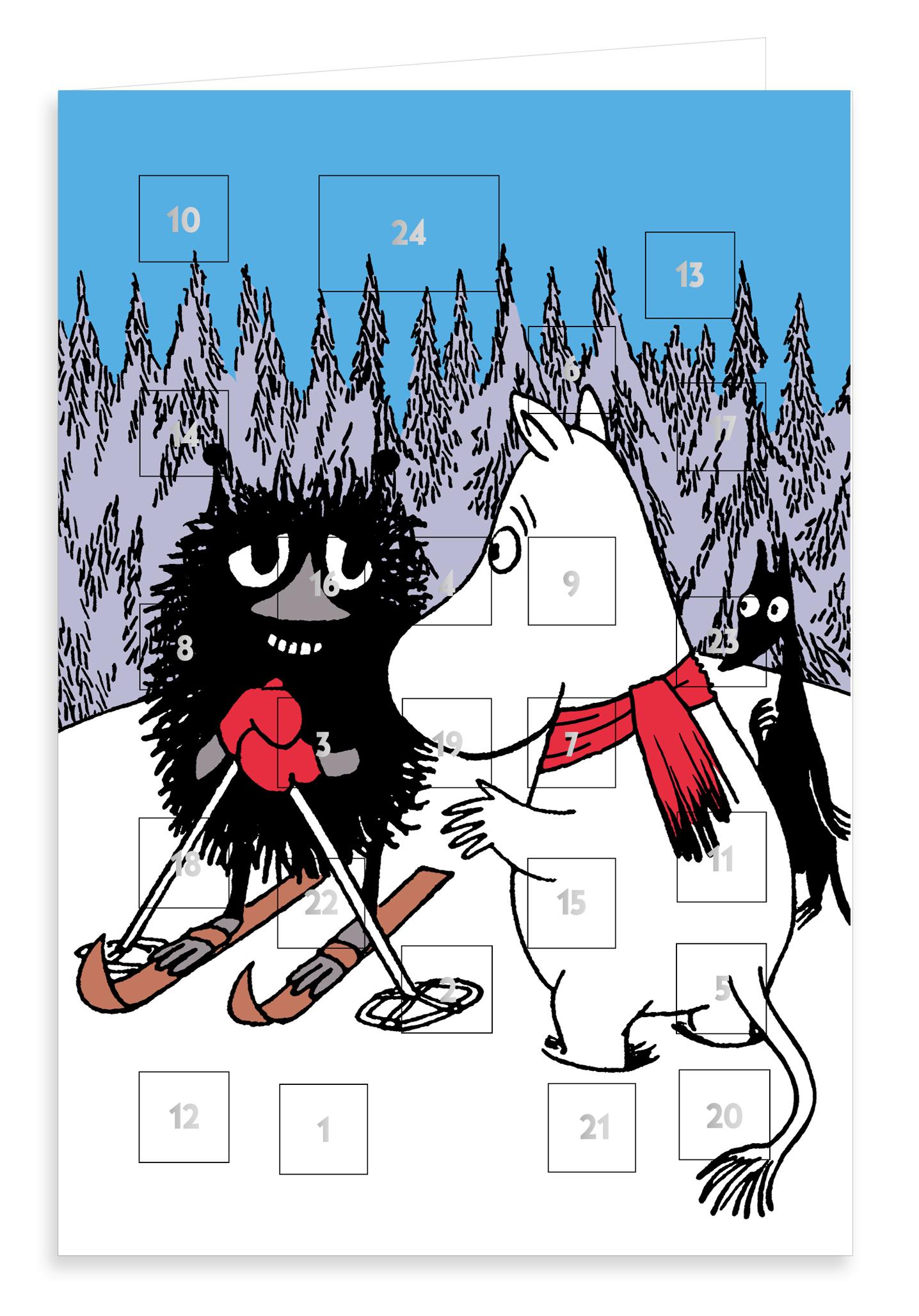 Putinki Advent Calendar Moomintroll and Stinky