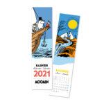 Putinki Bookmark Calendar 2021