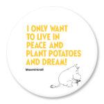 Putinki Magnet Planting Potatoes