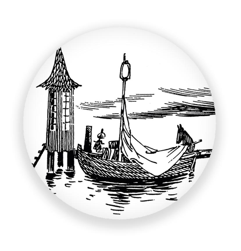 Putinki Magnet Setting Sail