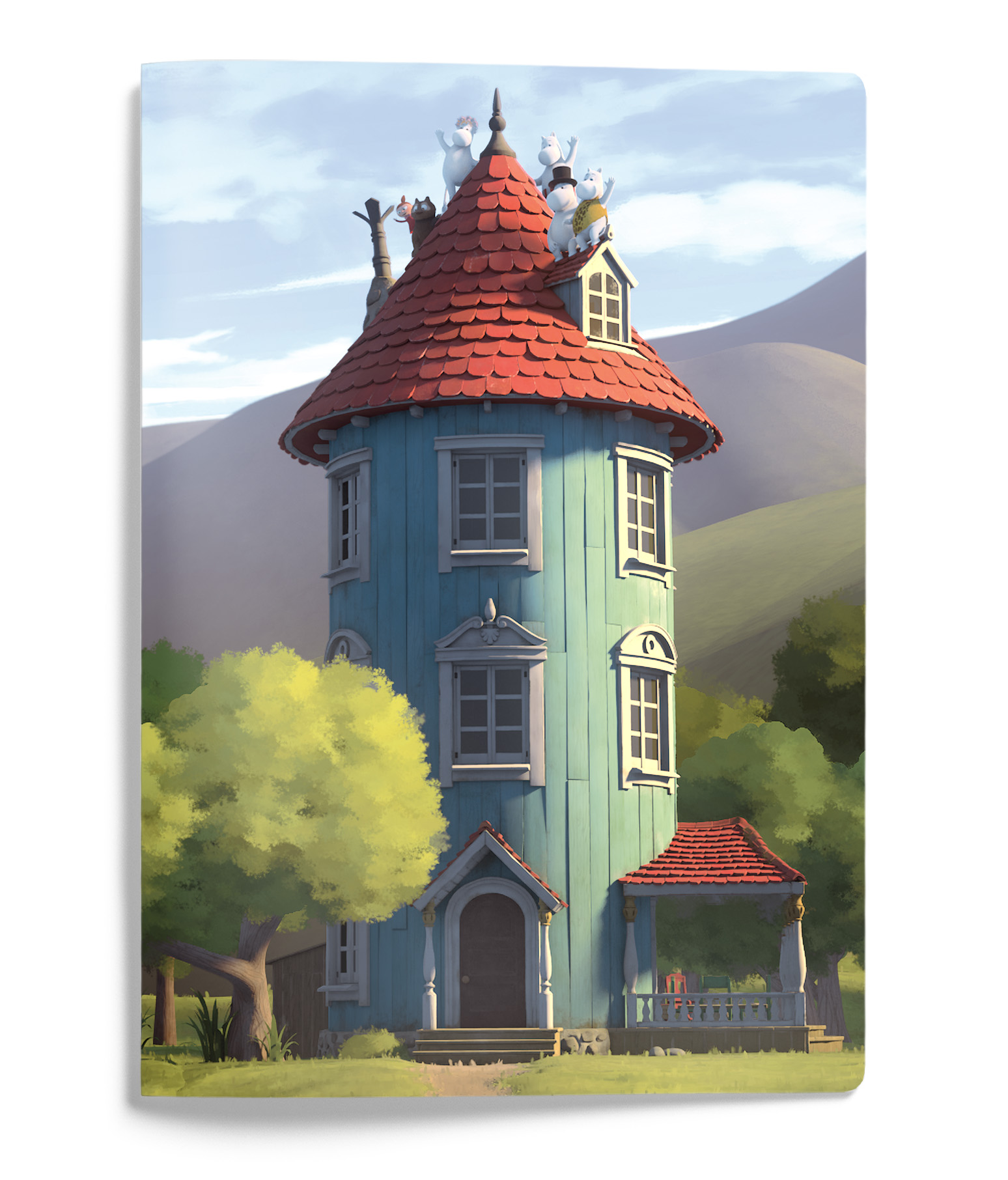 Putinki Softcover Notebook A5 Moominhouse