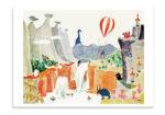 Putinki Postcard The Exploits of Moominpappa