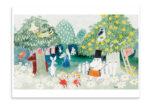 Putinki Postcard Finn Family Moomintroll 1