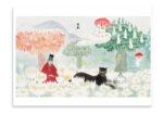Putinki Postcard Finn Family Moomintroll 2