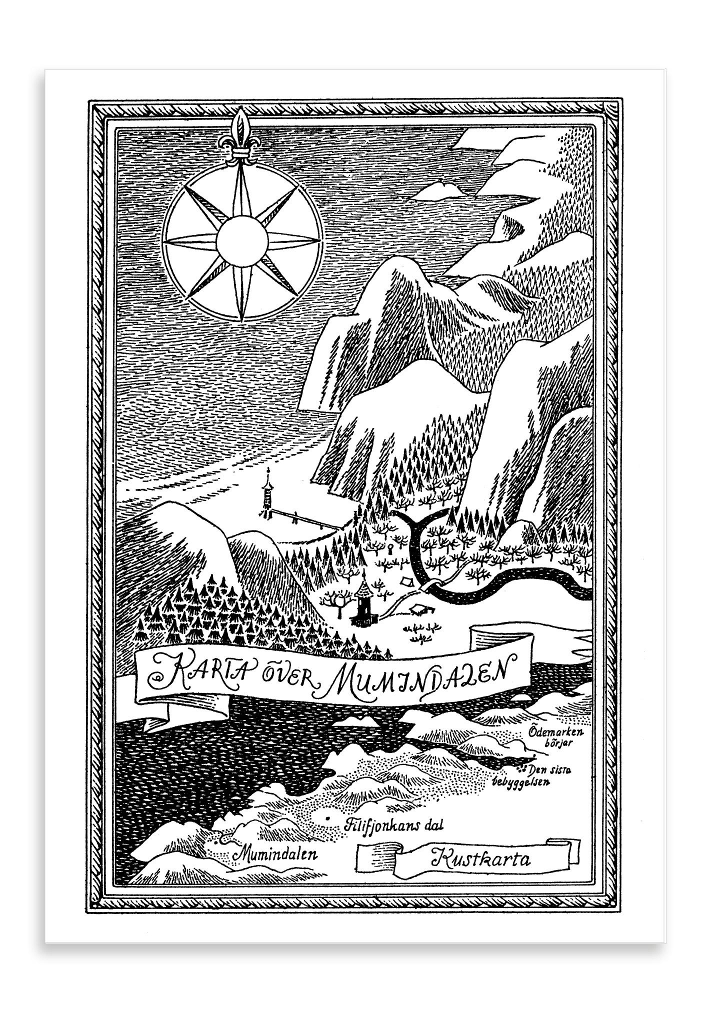 Putinki Postcard Kustkarta