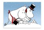 Putinki Postcard Snowball