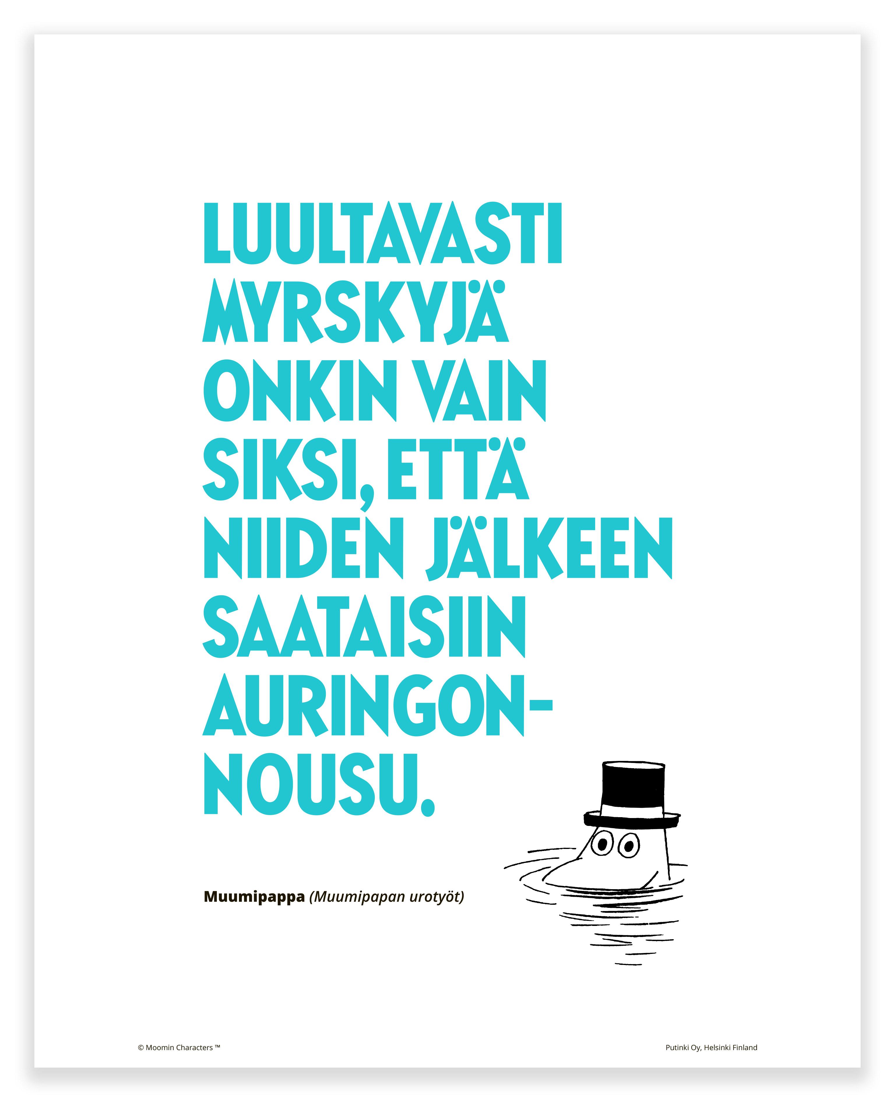 Putinki Poster Myrskyjä