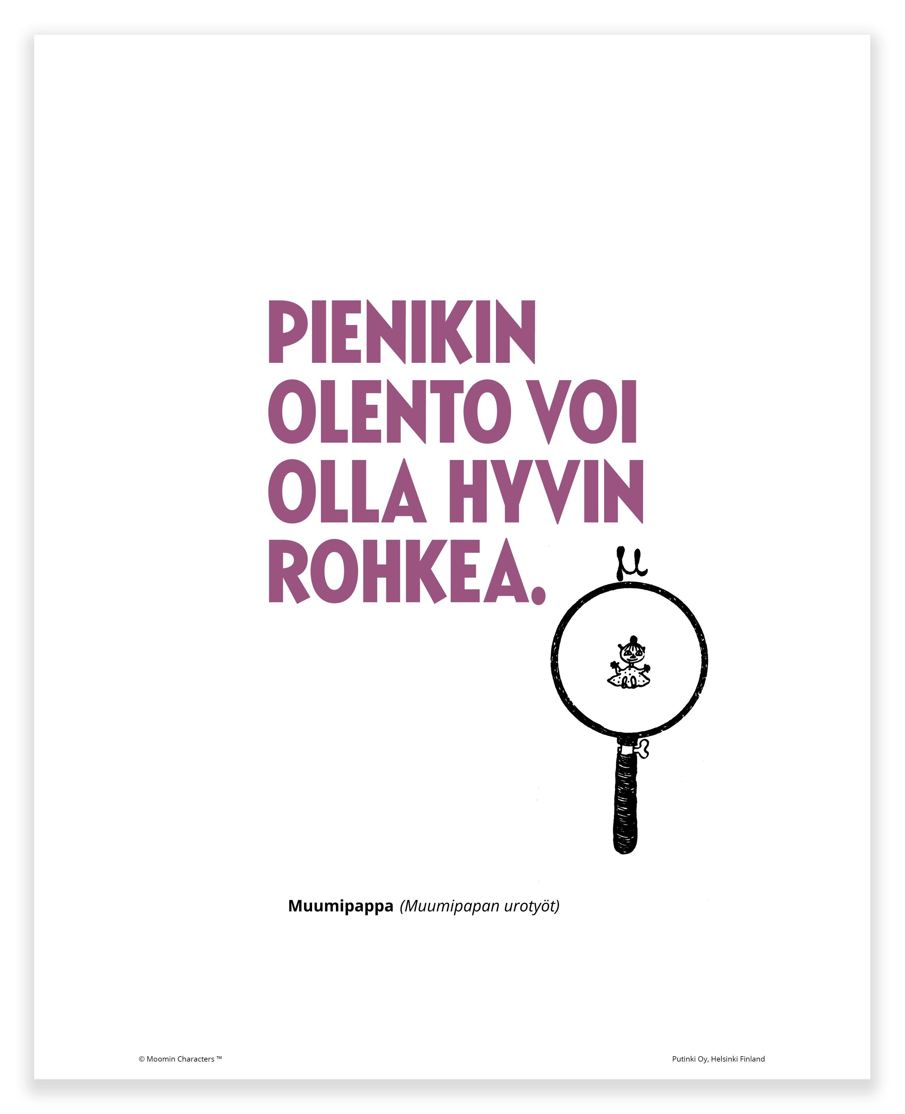 Putinki Poster Pieni olento