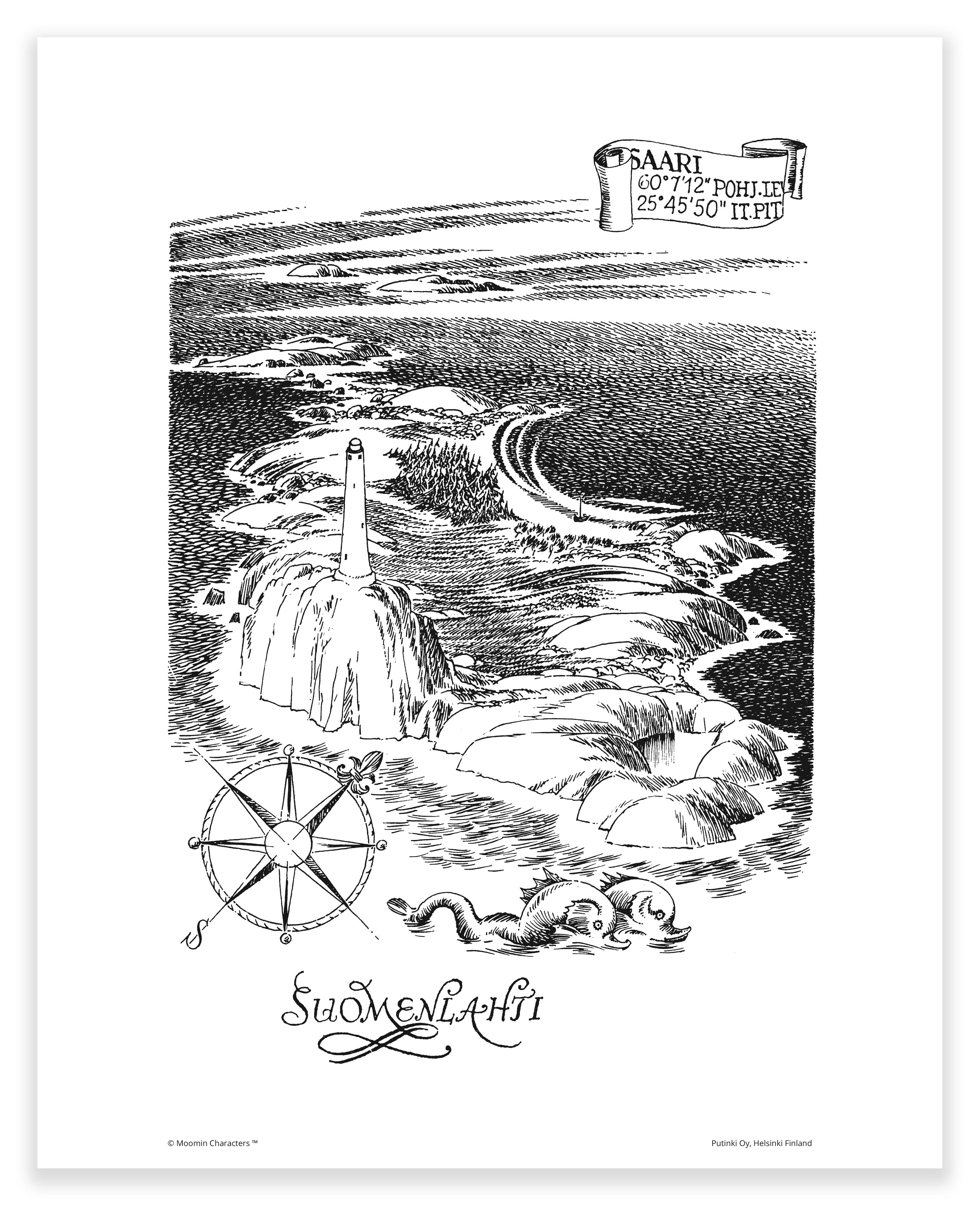 Putinki Poster Suomenlahti
