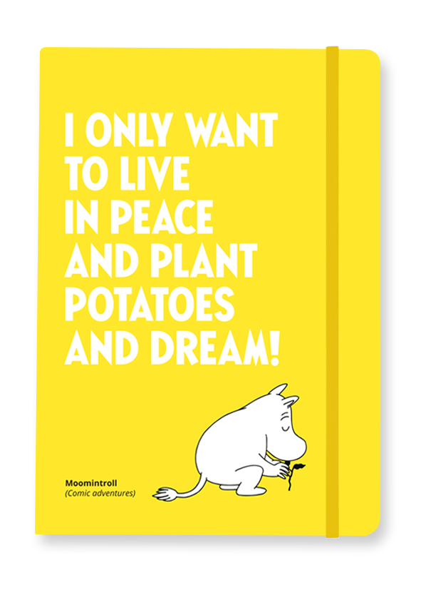 Putinki Softcover Notebook Planting Potatoes