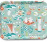 OPTO Tray 27x20 Moomin Retro Mint Green