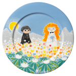 by Arabia Moomin Serving Plate 30cm Friendship