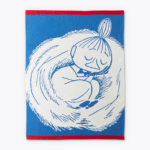 Finlayson BLANKET SNOOZING LITTLE MY BLUE 80X100