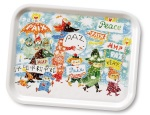 OPTO Tray 27x20 Unicef/Peace