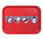 OPTO Tray 27x20 Red X-mas Heart